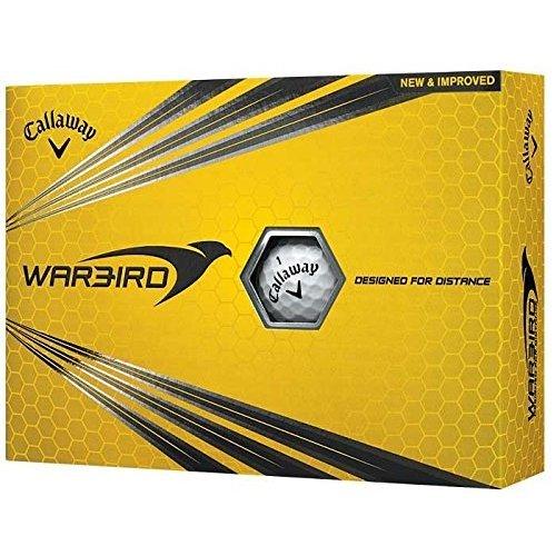 Callaway 2017 Warbird Golf Balls One Dozen White