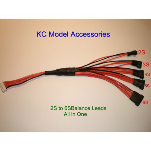 Balance Charger Leads 2S - 6S Charging Leads All In One