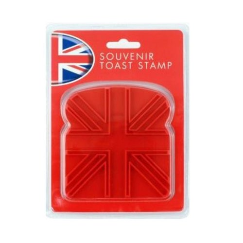 Union Jack Toast Stamp UK UJ Flag Souvenir Gift Novelty Kitchen Breakfast Party