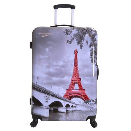 5f4bfd4c6 Karabar Falla Large 76 cm Hard Suitcase, Eiffel Tower on OnBuy