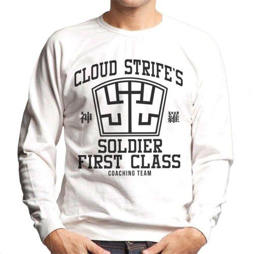 Final Fantasy Cloud Strife Coaching Team Men's Sweatshirt