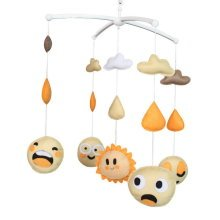 Crib Mobile, Handmade Colorful Toy, Cute and Creative Gift [Sun]
