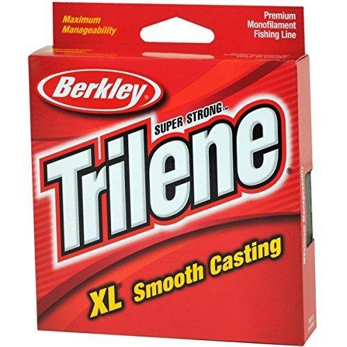 Berkley Trilene XL Smooth Casting Monofilament Service Spools (XLPS6-15), 110 Yd, pound test 6 - Clear