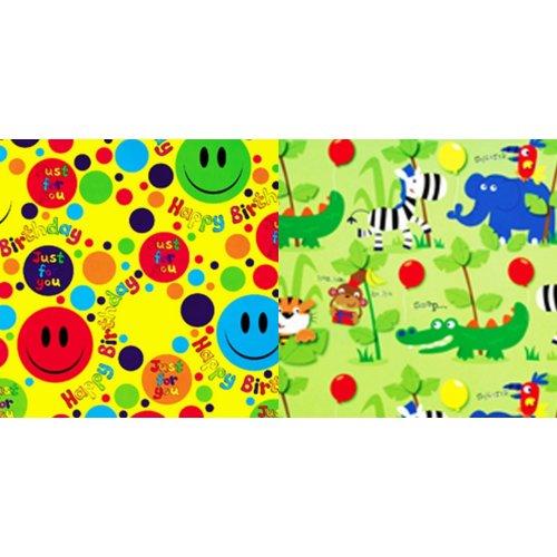 Simon Elvin Childrens/Kids 24 Sheets Gift Wraps