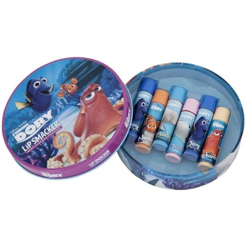 Lip Smacker Disney Finding Dory Round Tin -6 Pieces
