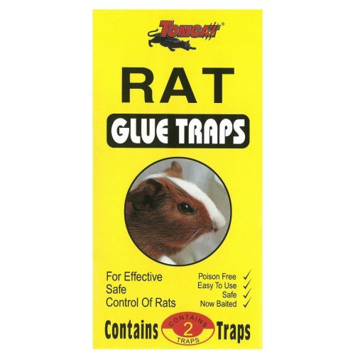 TomCat Rats Super Sticky Glue Traps 2 Per Pack