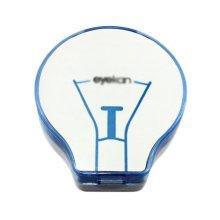 Fashion Creative Bulb Shaped Contact Lens Cases-Blue