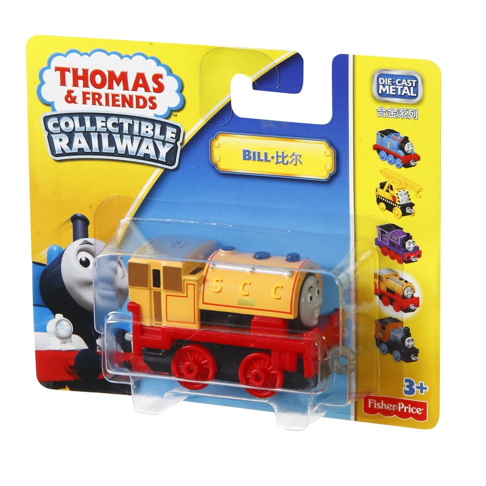 Thomas and Friends Collectible Railway Die-cast Bill Engine