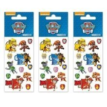 Paw Patrol Stickers - 3 Sheets