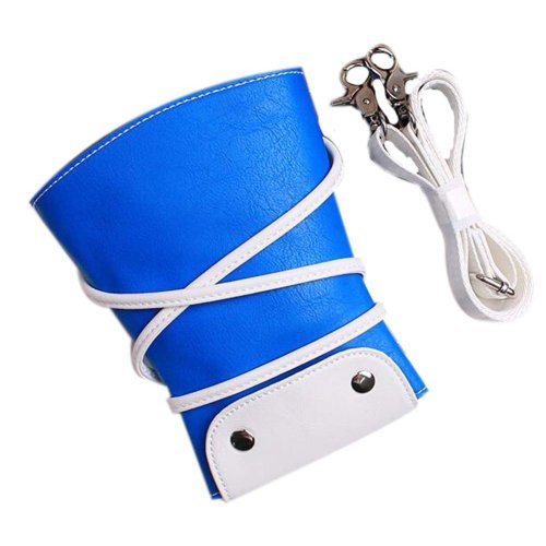 Hair Scissors Bag Hair Beauty Tools Package Hair Stylist Pockets, Blue