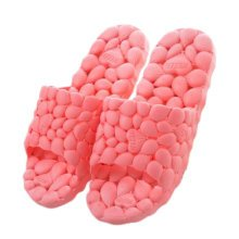Womens Cozy Indoor House Hollow Slipper Bathroom Non-slip Slippers, Watermelon Red