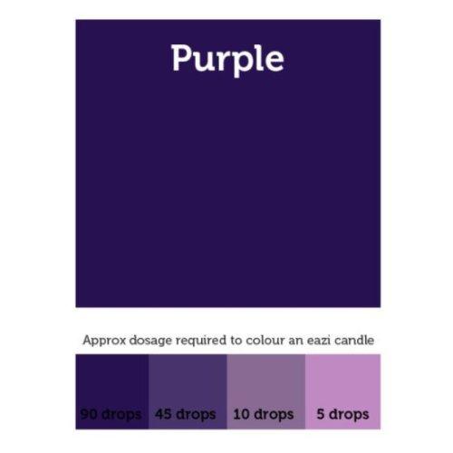 EaziCandle Purple High Intensity Liquid Candle Dye