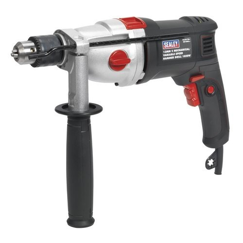 Sealey SD1000 13mm 2 Mechanical/Variable Speed Hammer Drill 1050W
