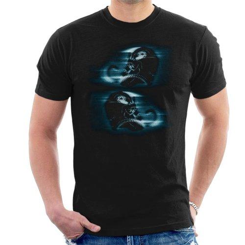 Original Stormtrooper Imperial TIE Pilot Helmet Hologlyph Men's T-Shirt
