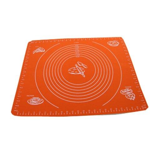 Non-stick Silicone Baking Mat Cookie Mat 50cm ×40cm Orange