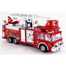 deAO Fire Rescue Red-Zero Team Simulation Remote Control Role Play Truck