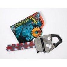 Halloween Plastic Jumbo Chainsaw - Bloody Fancy Dress Accessory -  halloween bloody chainsaw fancy dress accessory