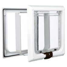 TRIXIE 4 Way Cat Flap XL 24x24 cm White 3867