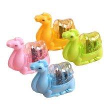 Set Of 4 High-quality Pencil Sharpener,Camel Modelling,Random Color