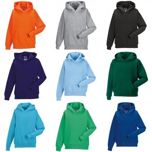 Jerzees Schoolgear Childrens Hooded Sweatshirt