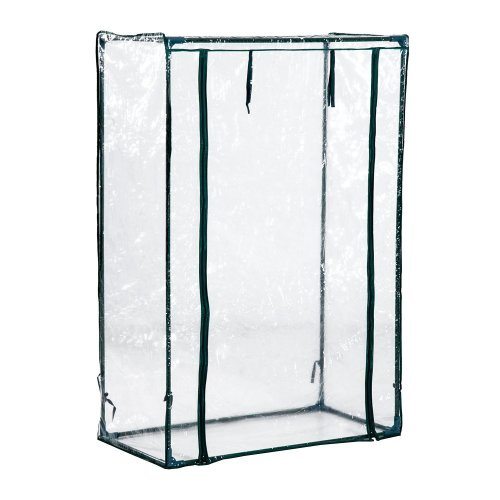 Outsunny PVC and Steel Greenhouse Plant Cover (100L x 50W x 150H (cm))