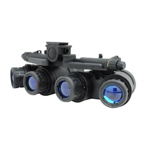 Airsoft Dummy Quad Night Vision Goggles Black Gpnvg 18 Uk