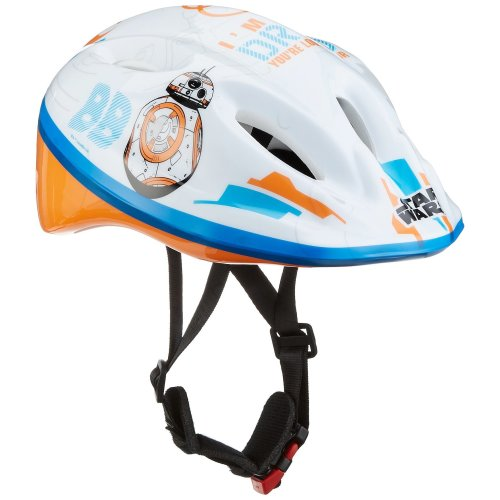Disney Children's Helmet Cars Mickey Minnie Winnie the Pooh Princess Children's Bicycle Helmet (Star Wars, 52-56 cm)