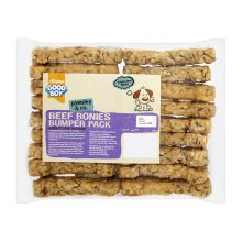 Good Boy Pawsley & Co Beef Bonies Bumper Pack Dog Treats