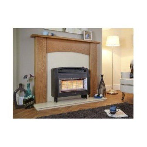 Designer Fire - Flavel FORSB0EN Brown Strata Gas Fire - EC