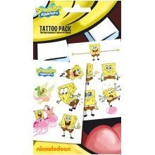 Spongebob Tattoo Pack