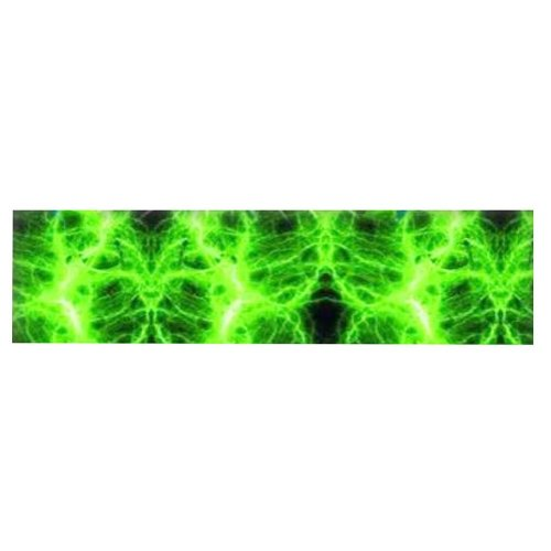 Bike Decorations Fixed Gear Bicycle Sticker For Bicycle Frame -Green Lightning