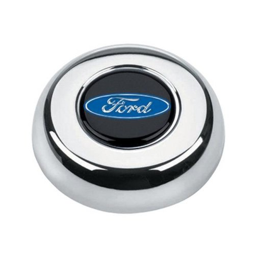 Grant 5685 Ford Oval Horn Button - Chrome