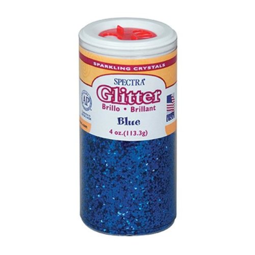 Pacon Corporation PAC91650 Glitter 4Oz Blue
