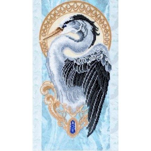 VDV Bead Embroidery Kit - Sunny Bird - Crane