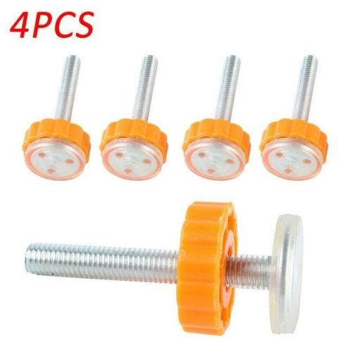 4 pcs Baby Safety Stairs Gate Screws Bolts with Locking Nut Spare Supplies 6A