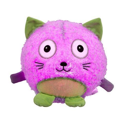 Vivid Imaginations Oodlebrites Light-Up Cat Plush Toy (Multi-Colour)