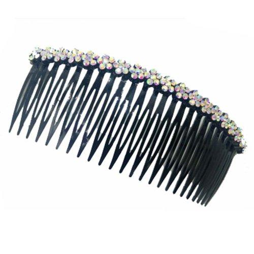 Card Edge Rhinestone Hair Accessories Hairpin Comb  Bangs Chuck Top Jewelry
