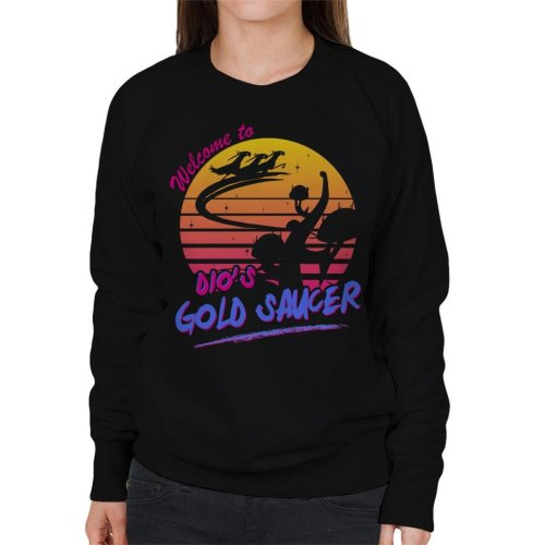 Dios Gold Saucer Women's Sweatshirt