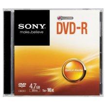 Sony 16x DVD-R 4.7GB 4.7GB DVD-R 1pc(s)