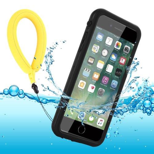 huge selection of 582d7 80247 Waterproof Phone Case iPhone 8 Plus / 7 Plus Full-Body Rugged Cover IP68  with Floating Strap Fingerprint Sensitive Slim Shockproof Waterproof...