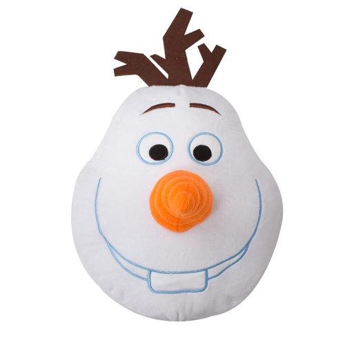 Disney Frozen Childrens/Kids Olaf Shaped 3D Cushion