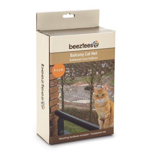 Beeztees Balcony Cat Net Transparent 6x3 m 410483