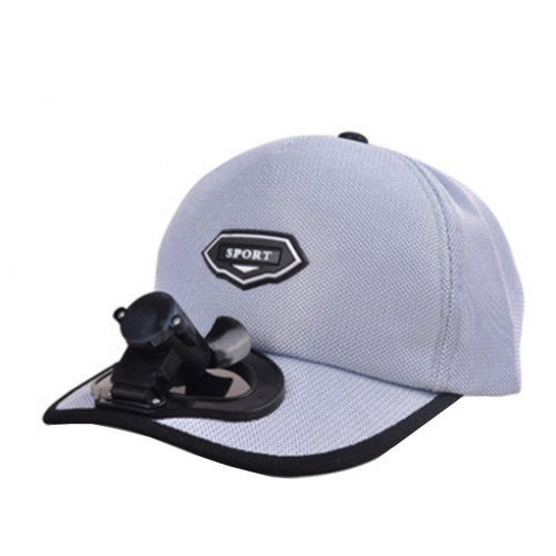 Summer Fan Hat with Fan Fishing Sun Visor Cap#G