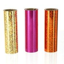 Foilart 1 M x 74mm Rolls 3 Sparkle Foils -  foilart 1 m x 74 mm rolls 3 sparkle foils