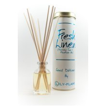 Lily Flame Reed Diffuser - Fresh Linen