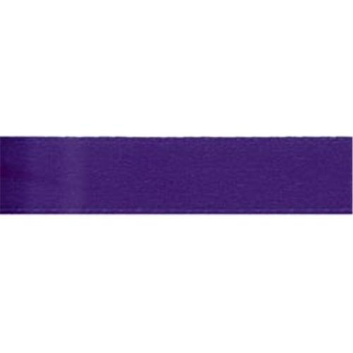 Offray 1017 5-8-470 Single Face Satin Ribbon 5-8 in. Wide 18 Feet-Regal Purple