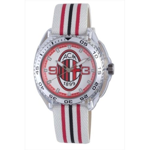 Chronotech AC.6280L-02 Kids White & Red Dial Watch
