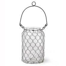 Large Wire Mesh Lantern