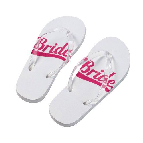 Bride Flip Flops Medium
