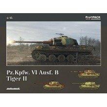 Edk3715 - Eduard Kits 1:35 Profipack - Pz.kpfw. V1 Ausf. B Tiger Ii
